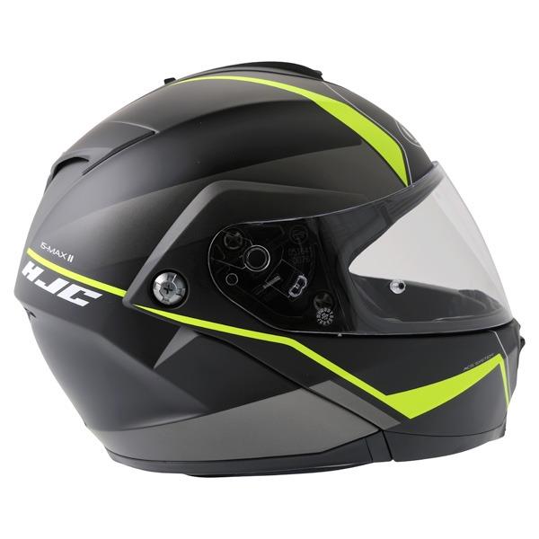 1f5cdd4b hjc-is-max-2-mine-black-yellow - K.C. Cycle Helmet World